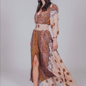 Maxicali Rose Maxi dress from freepeople